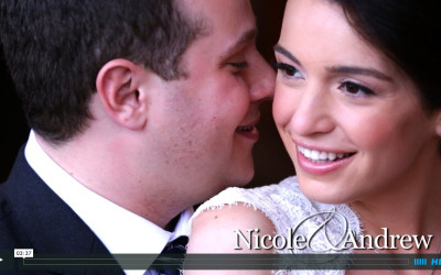 Nicole & Andrew's Lake Placid Winter Wedding