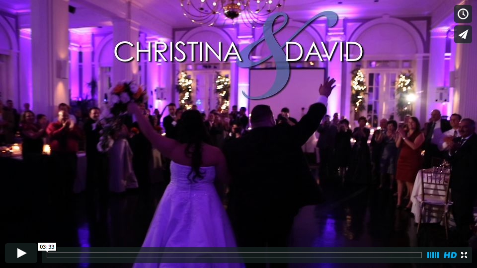 Christina & David's Grand Entrance – SDE at The State Room