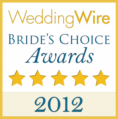 Bride's Choice Award - 2012
