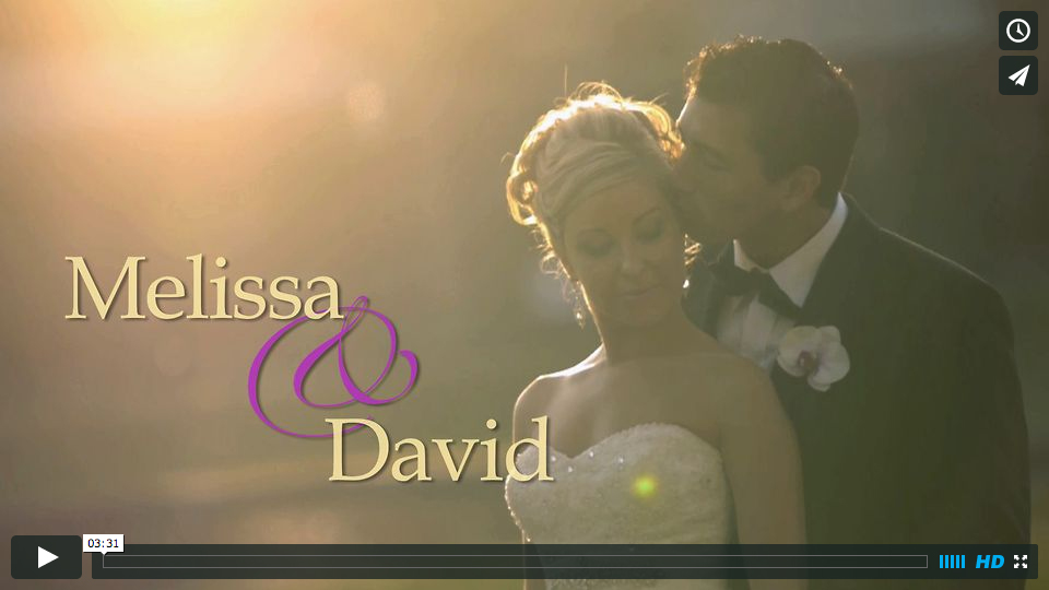 Melissa and David's Wedding Video