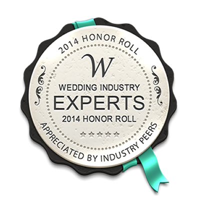 Wedding Industry Experts Award - 2014