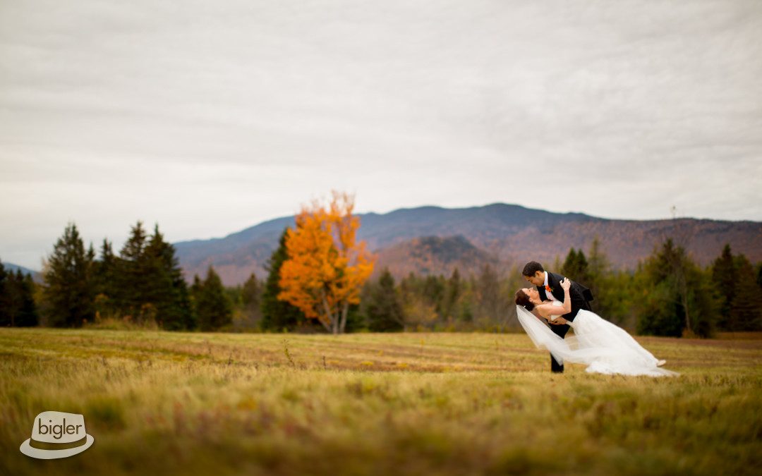 Christiana & Will's Fall Wedding at The Whiteface Lodge