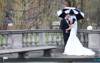 Julie and Jimmy's Canfield Casino Wedding