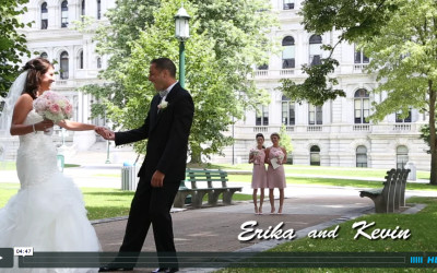 Erika and Kevin's Albany Wedding Video