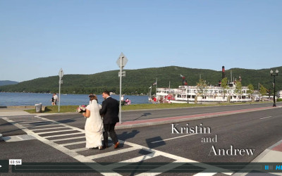 Kristin and Andrew's Lake George Wedding Video