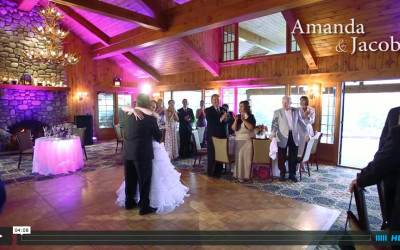 Amanda & Jacob's Lake Placid Wedding