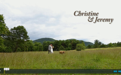 Christine & Jeremy's Burlap and Beams Wedding Video