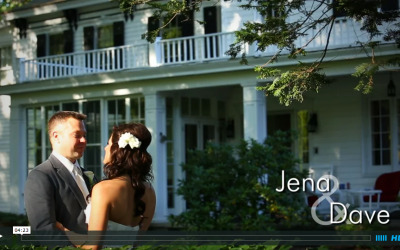 Jena & Dave's River Stone Manor Wedding Video