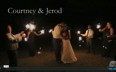 Courtney & Jerod's Lodge at Echo Lake Wedding Video