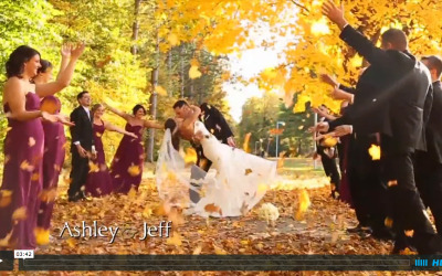Ashley & Jeff's Saratoga Springs Wedding Video