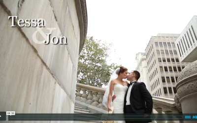 Tessa & Jon's 90 State Wedding Video
