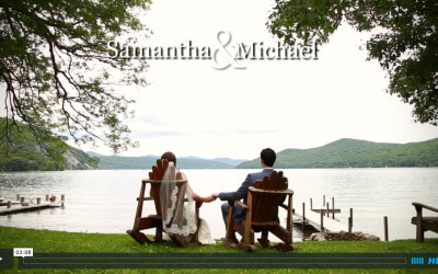 Samantha and Mike's Lake George Wedding Video