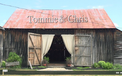 Tommie & Chris' Burlap and Beams Wedding Video