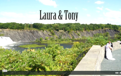 Laura & Tony's Crooked Lake House Wedding Video
