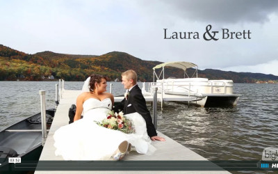 Laura & Brett's Lake Morey Resort Wedding Video