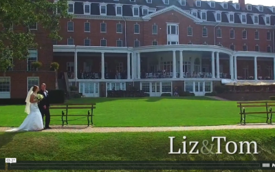 Liz and Tom's Otesaga Wedding Video