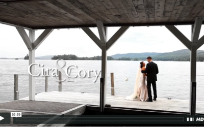 Cira & Cory's Lake George Wedding Video