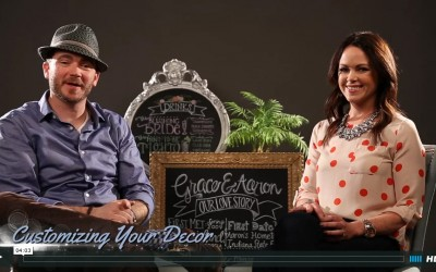 Bigler Bridal Tips: Customizing Your Wedding Decor w/ Kailin Curtin of Simply Scout Designs