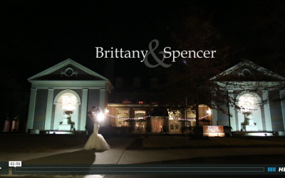 Brittany and Spencer's Hall of Springs Wedding Video