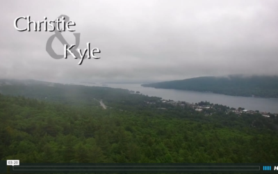 Christie & Kyle's Georgian Lakeside Resort Wedding Video