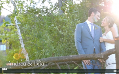 Andrea & Brians Whiteface Club Wedding Video