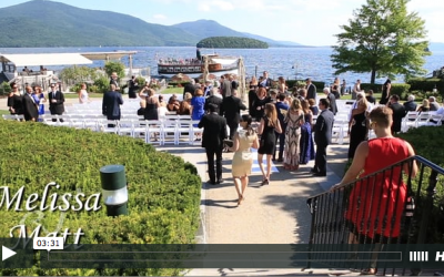 Melissa & Matt's Sagamore Wedding Video