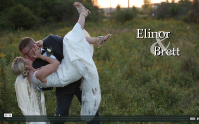 Elinor & Brett's Pats Barn Wedding Video
