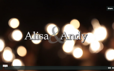 Alisa & Andy's Lake Placid Lodge Wedding Video