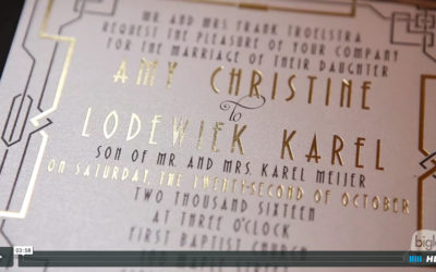 Amy & Lodewiek's Inn at Erlowest Wedding Video