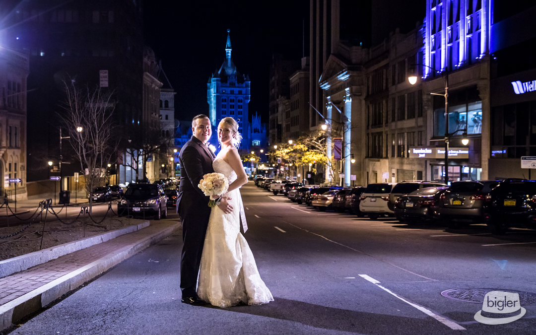 Leah & Ben's 90 State Street Wedding Photo's