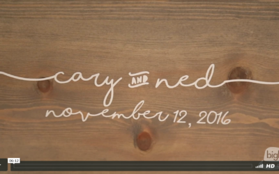 Cary & Ned's Hall of Springs Wedding Video
