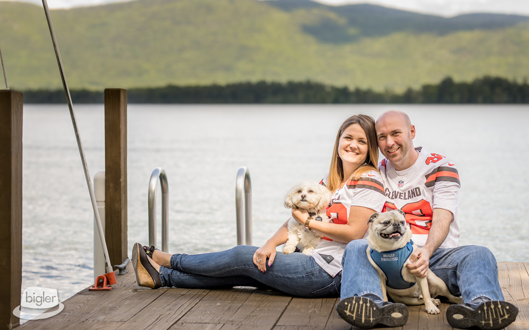 Erin & Steve's Lake George Engagement Shoot
