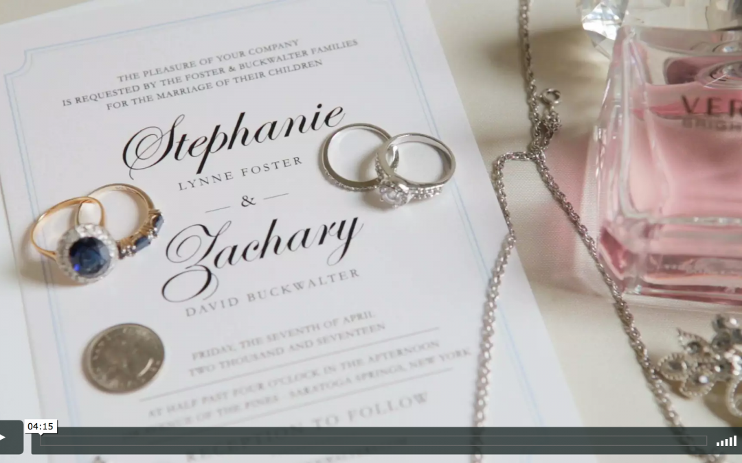 Stephanie & Zach's Hall of Springs Wedding Video