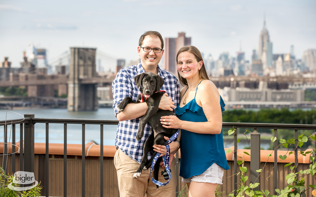 Beth & David's Brooklyn Engagement Shoot