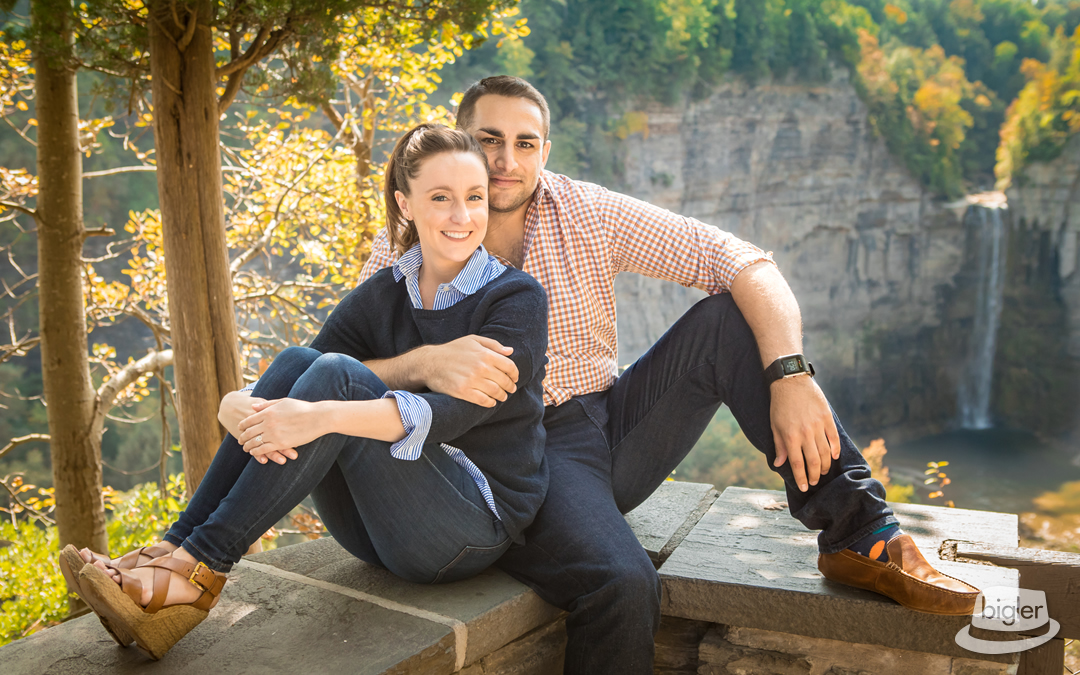 Ally & Andrew's Ithaca Engagement Shoot