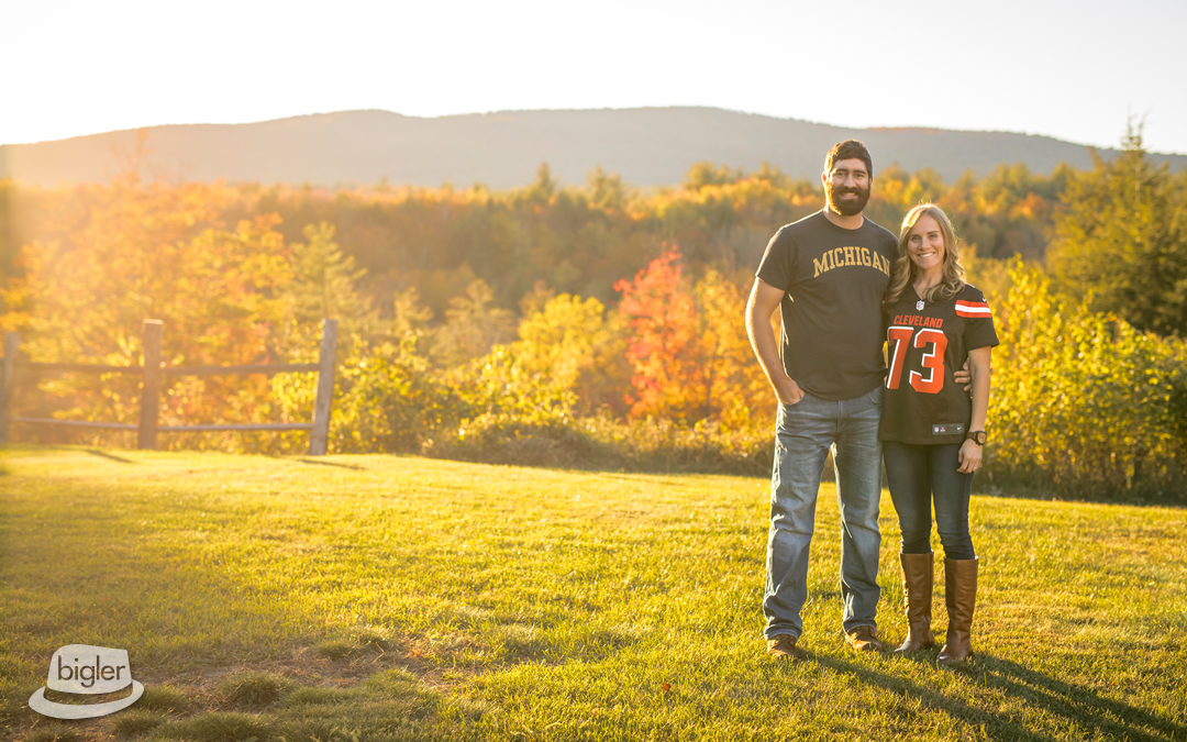 Laura & Zach's Adirondack Engagement Shoot