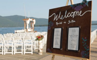 Rachel and Justin's Lake George Club Wedding