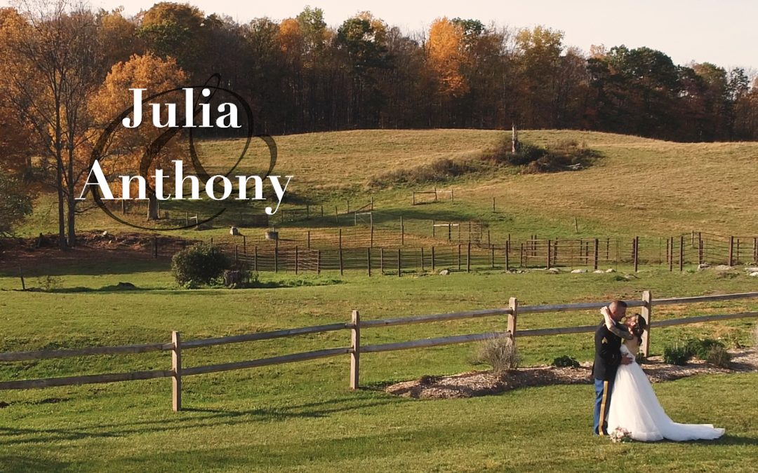 Julia and Anthony's Lakota Farm Wedding Video