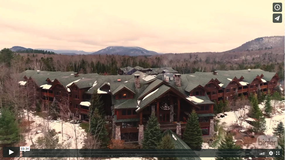 Kristina and Kevin's Whiteface Lodge Same Day Edit Video