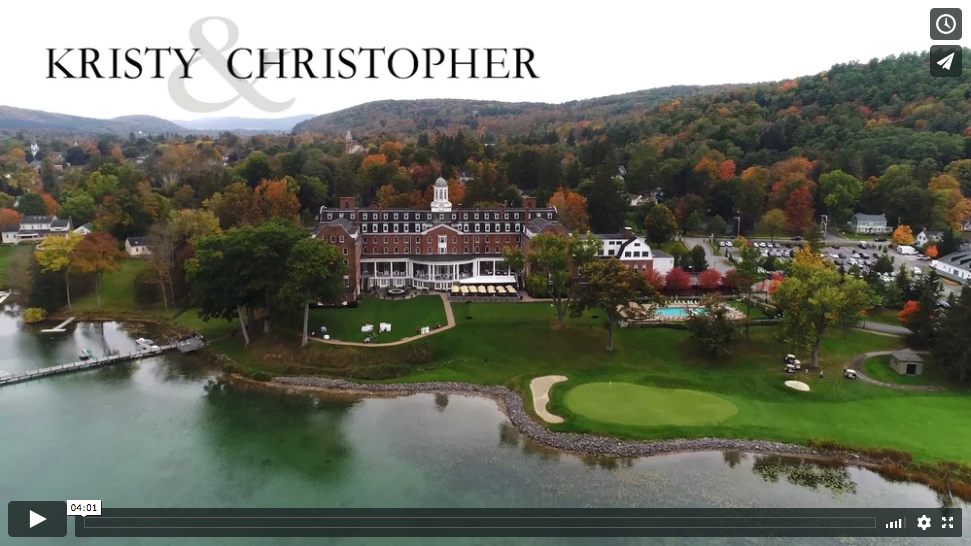 Kristy and Christopher's Otesaga Wedding Video