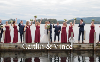 Caitlin and Vince's Sagamore Wedding Video