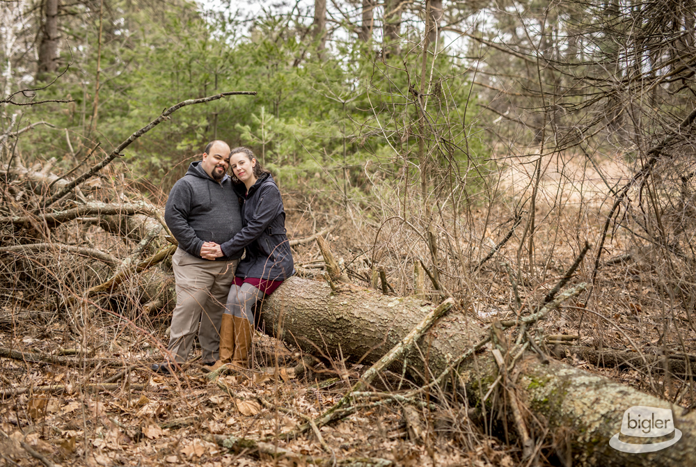 Maria & Joshua's Spa State Park Engagement Shoot