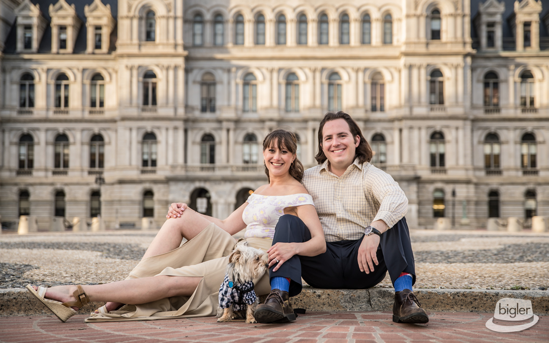 Elyse & Evan's Albany Engagement Shoot