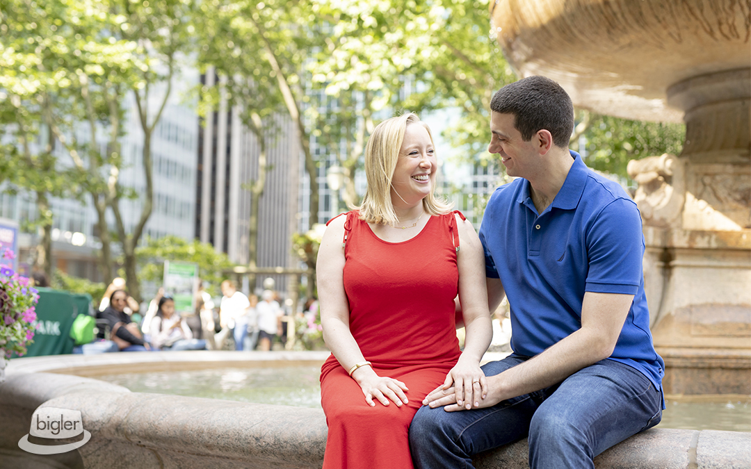Sarah & John's NYC Engagement Shoot