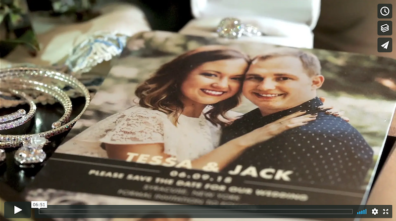 Tessa & Jack's Downtown Syracuse Wedding Highlight Video