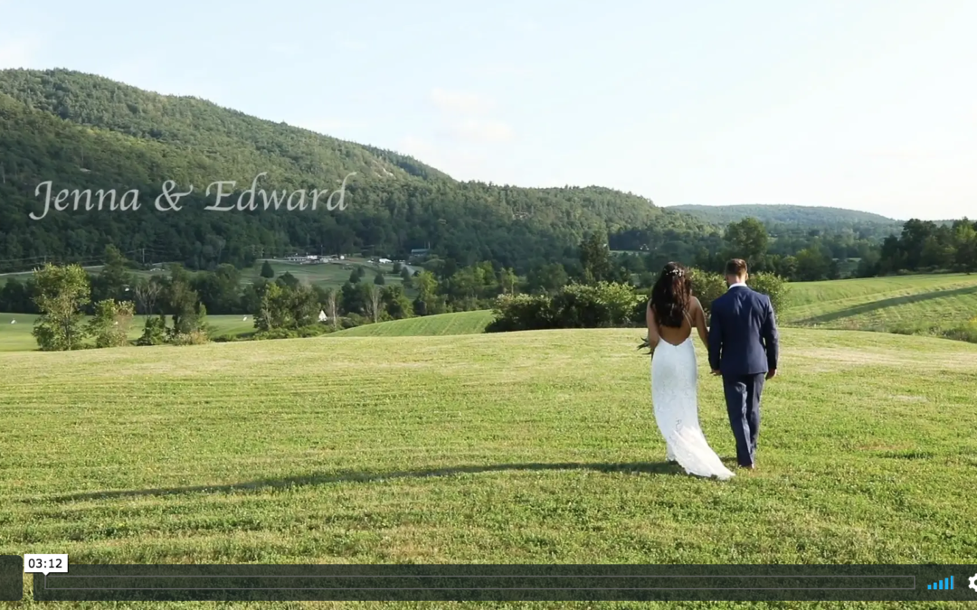 Jenna & Edward's Barn at Lord Howe Valley Farm Wedding Video