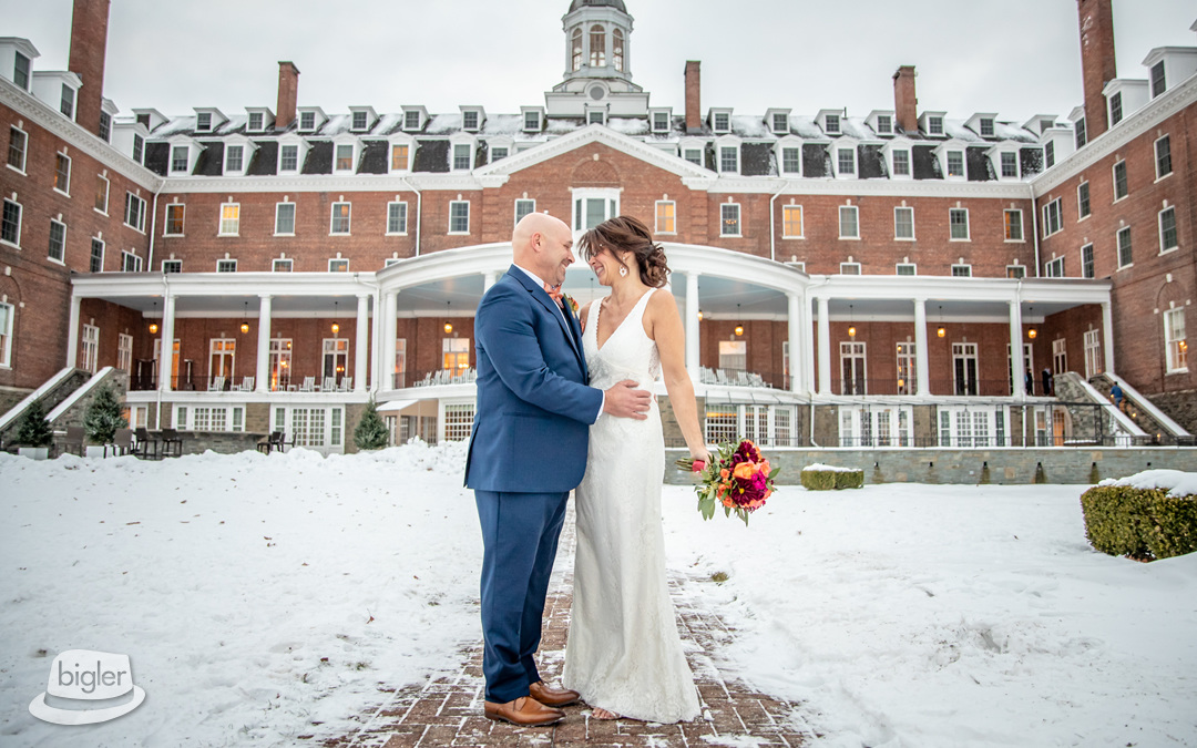 Melissa & Richard's Otesaga Wedding Photos