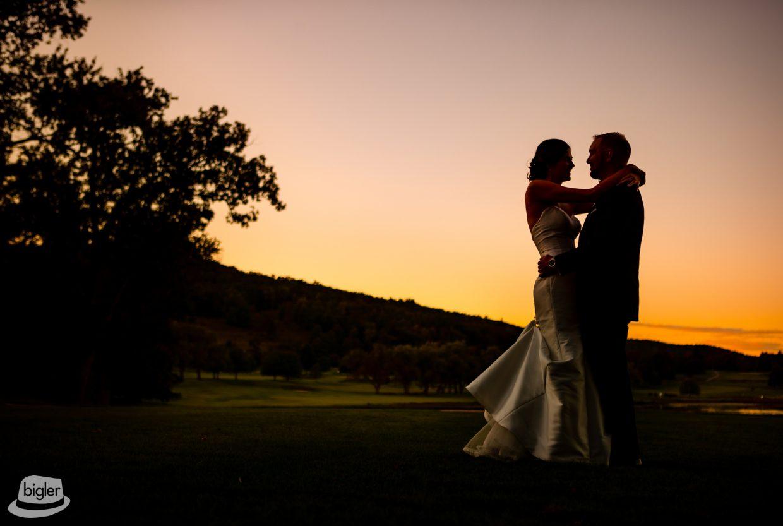 Meg & Pat's Otesaga Wedding Photo